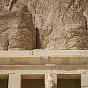 Temple Of Hatshepsut Poster