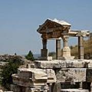 Temple Ruin - Ephesus Poster