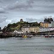 Tenby Harbour From North Beach Poster