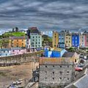Tenby Harbour In Summer 2 Poster