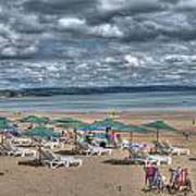 Tenby North Beach 3 Poster