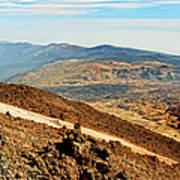Tenerife Volcanic Landscape Poster
