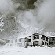 Tengboche Monastery In The Himalaya Poster