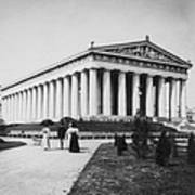 Tennessee Centennial In Nashville - The Parthenon - C 1897 Poster