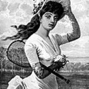 Tennis, 1887 Poster