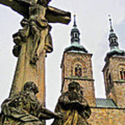 Tepla Monastery - Czech Republic Poster