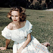 Teresa Wright, Ca. Late 1950s Poster