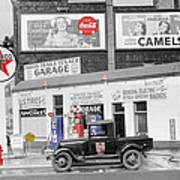 Texaco Station Poster