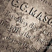Tcm - C.c. Mason Grave Poster