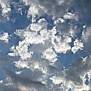 Textured Skies Poster