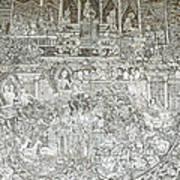 Thai Writing Patterns Poster