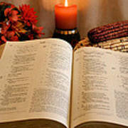 Thanksgiving Psalm 18 Poster