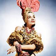 That Night In Rio, Carmen Miranda, 1941 Poster by Everett