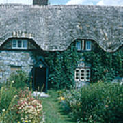 Thatched Roof, England Poster