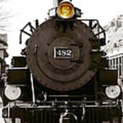 The 482 Durango To Silverton Poster