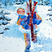 The Aerial Skier - 3 Poster