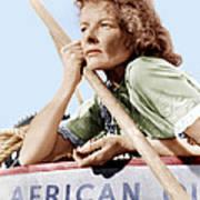 The African Queen, Katharine Hepburn Poster by Everett
