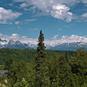 The Alaska Range Poster