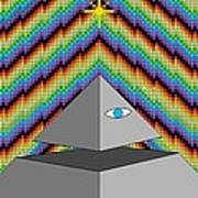 The All-seeing Eye Poster