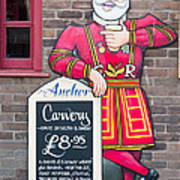 The Anchor Pub Sign Poster