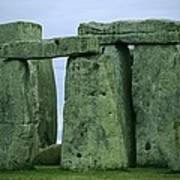 The Ancient Ruins Of Stonehenge Poster