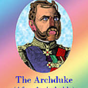 The Archduke After Arcimboldo Poster