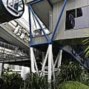 The Area Below The Capsules Of The Singapore Flyer Poster