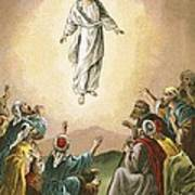 The Ascension Poster by English School