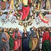 The Ascension Of Christ Poster by Pietro Perugino