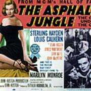 The Asphalt Jungle, Left Marilyn Monroe Poster by Everett