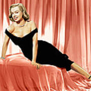 The Asphalt Jungle, Marilyn Monroe, 1950 Poster