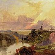 The Avon Gorge At Sunset  Poster