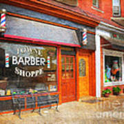 The Barber Shop Poster