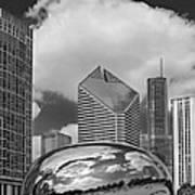 The Bean Chicago Illinois Poster