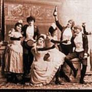 The Black Crook Company, Portraying Poster
