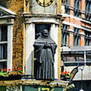The Black Friar Pub In London Poster