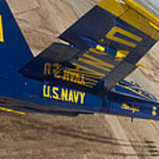 The Blue Angels Perform Over El Centro Poster