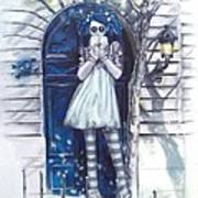 The Blue Door Poster by Lori Keilwitz