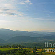 The Blue Ridge Mountains In July 01 Poster