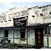 The Buckhorn Saloon Poster
