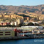 The Castle In Almeria Spain Poster