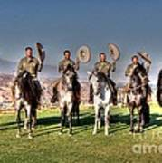 The Charros Poster