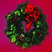 The Christmas Wreath Poster