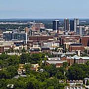 The City Of Birmingham Alabama Usa Vertical Poster