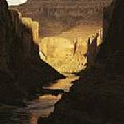 The Colorado River Flows Poster