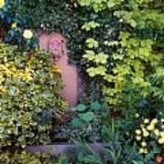 The Courtyard Garden, Fairfield Lodge Poster
