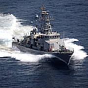 The Cyclone-class Coastal Patrol Ship Poster