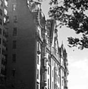The Dakota In Black And White Poster