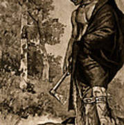 The Death Of Pontiac, 1769 Poster by Photo Researchers