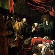The Death Of The Virgin Poster by Caravaggio
